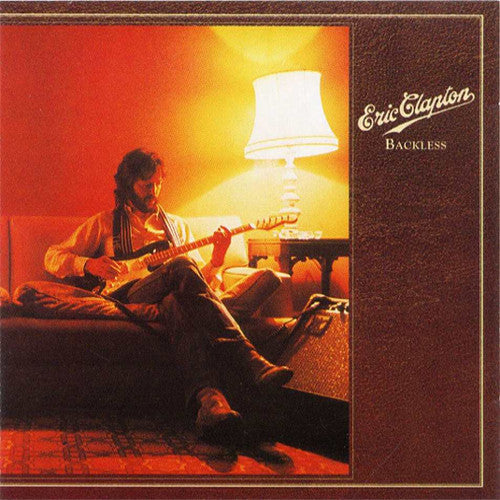 Eric Clapton Backless - vinyl LP