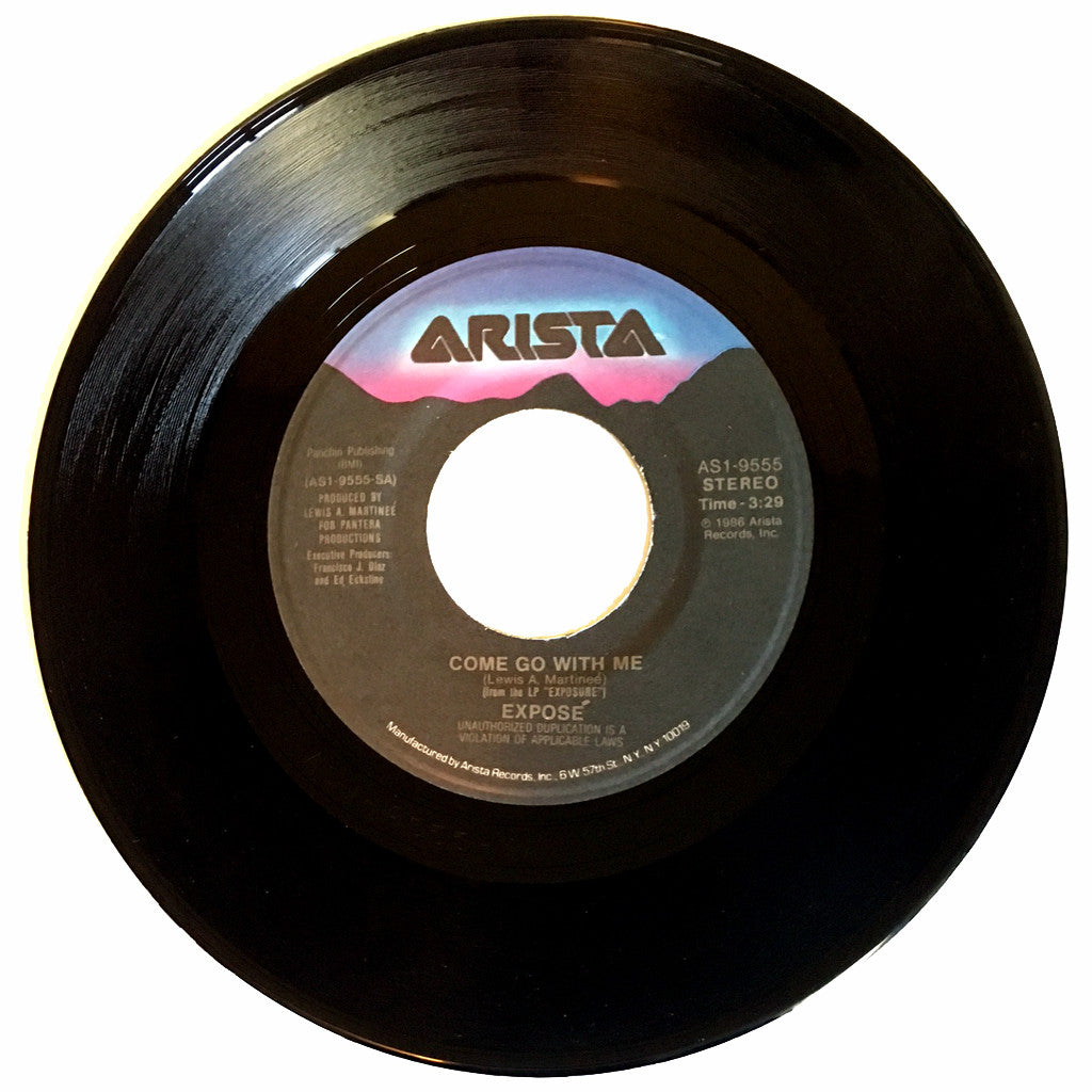 Expose Come Go With Me / December - 7 inch