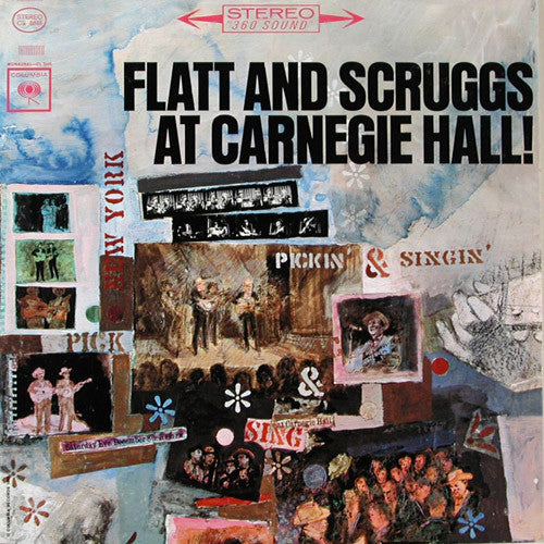 Flatt & Scruggs At Carnegie Hall - vinyl LP