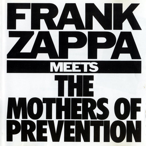 Frank Zappa Meets The Mothers Of Prevention - cassette