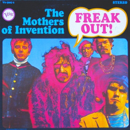 Frank Zappa and The Mothers of Invention Freak Out - vinyl LP