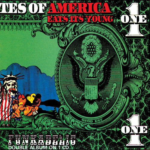 Funkadelic America Eats Its Young - cassette