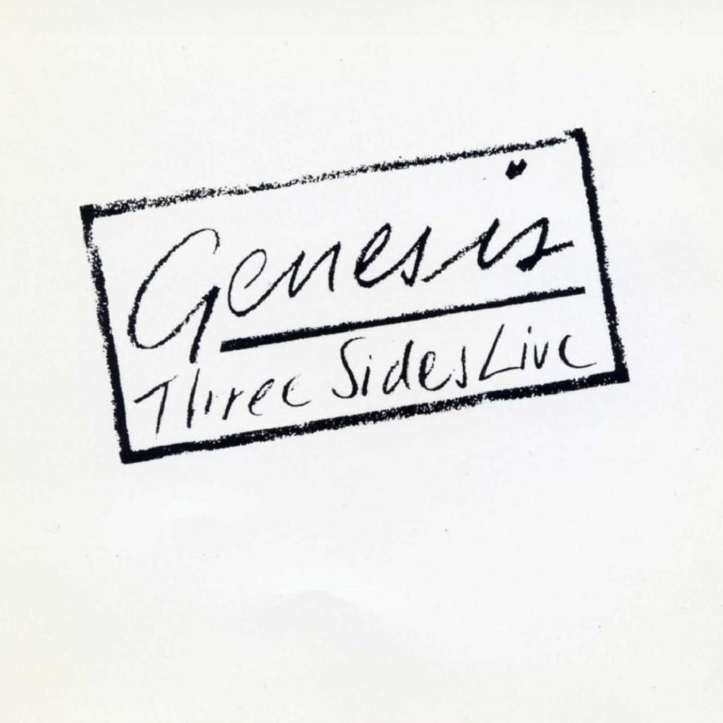 Genesis Three Sides Live - vinyl LP
