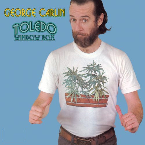 George Carlin Toledo Window Box - vinyl LP