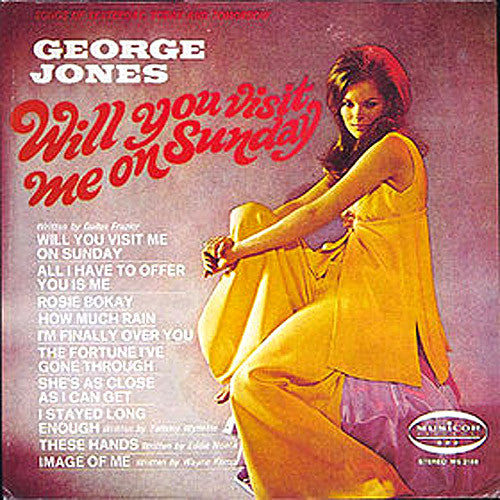 George Jones Will You Visit Me On Sunday - vinyl LP