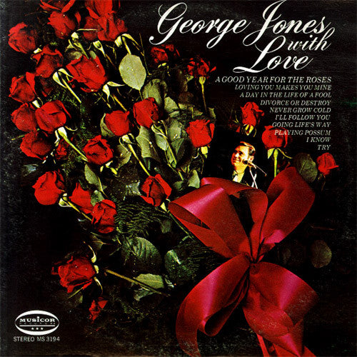 George Jones With Love - vinyl LP
