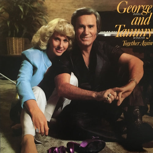 George Jones and Tammy Wynette Together Again - vinyl LP