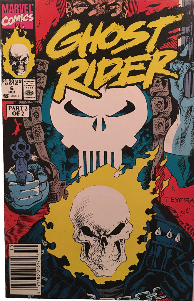 Ghost Rider #6 - comic book