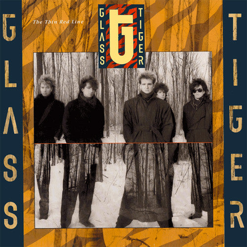 Glass Tiger The Thin Red Line - vinyl LP