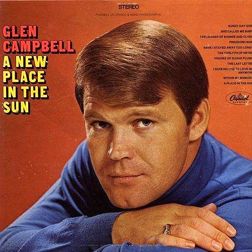 Glen Campbell A New Place In The Sun - vinyl LP