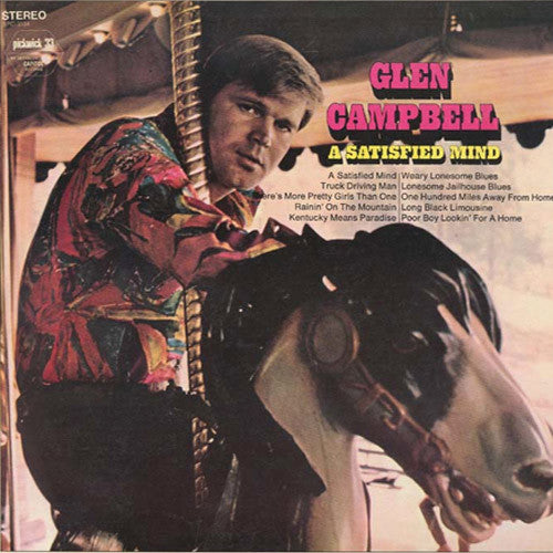 Glen Campbell A Satisfied Mind - vinyl LP