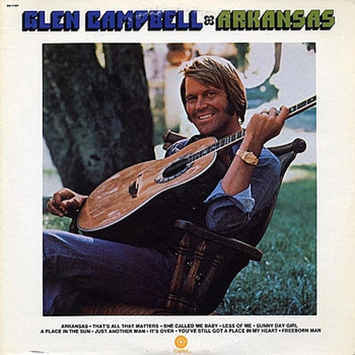 Glen Campbell Arkansas - vinyl LP