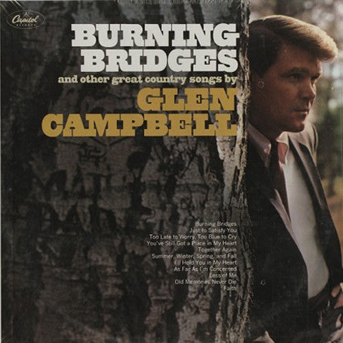 Glen Campbell Burning Bridges - vinyl LP