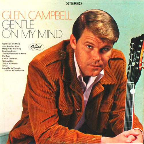 Glen Campbell Gentle On My Mind - vinyl LP