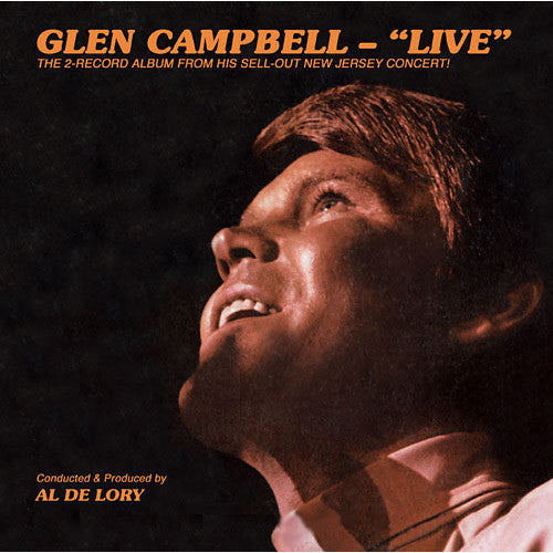 Glen Campbell Live - vinyl LP