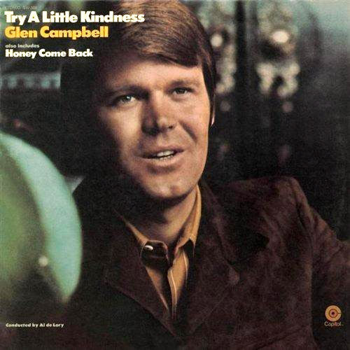 Glen Campbell Try A Little Kindness - vinyl LP