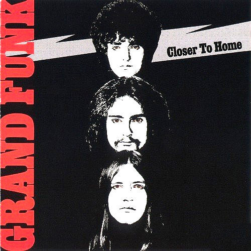 Grand Funk Closer To Home - vinyl LP