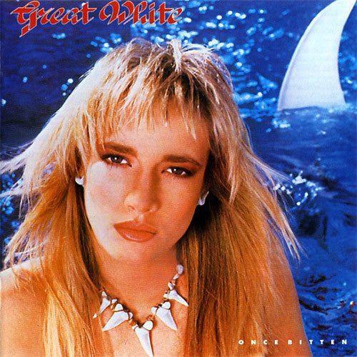 Great White Once Bitten - vinyl LP