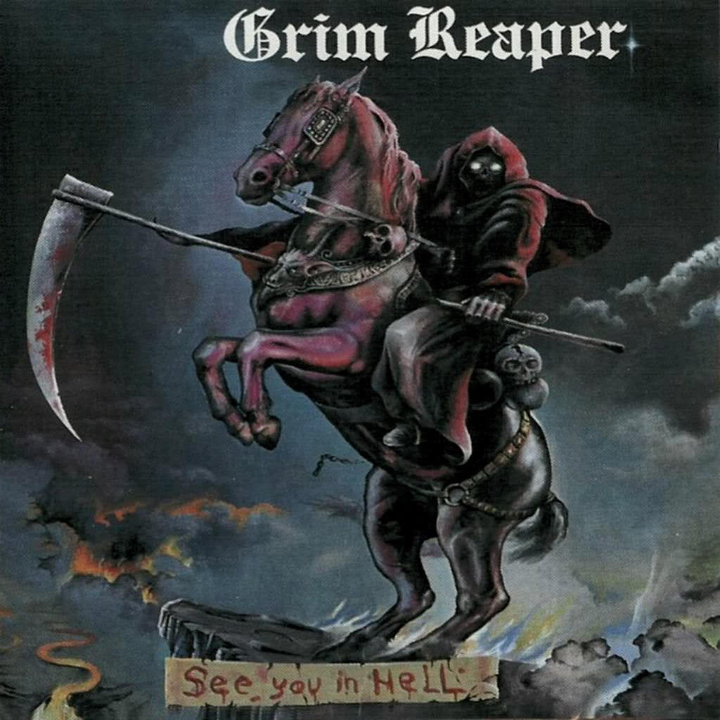 Grim Reaper See You In Hell - cassette