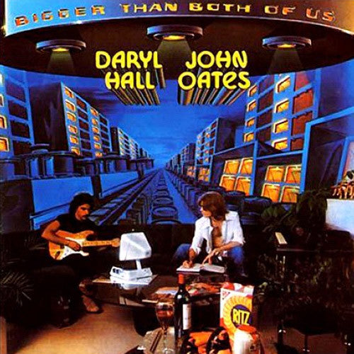 Hall and Oates Bigger Than Both Of Us - vinyl LP