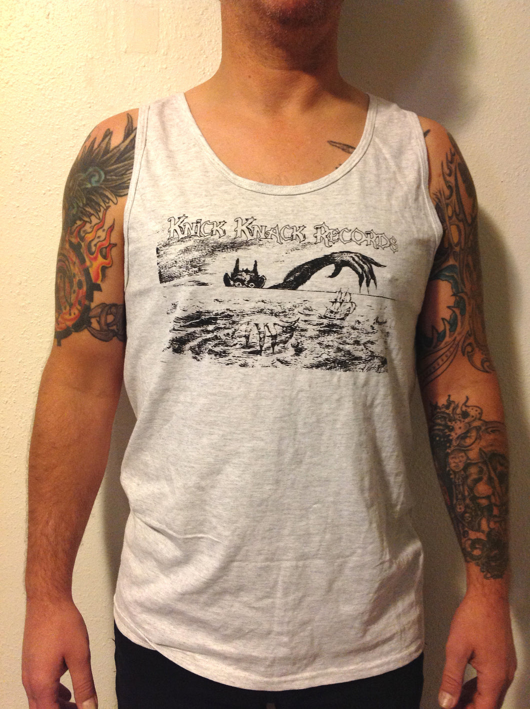 Knick Knack Records Hand of Doom tank top