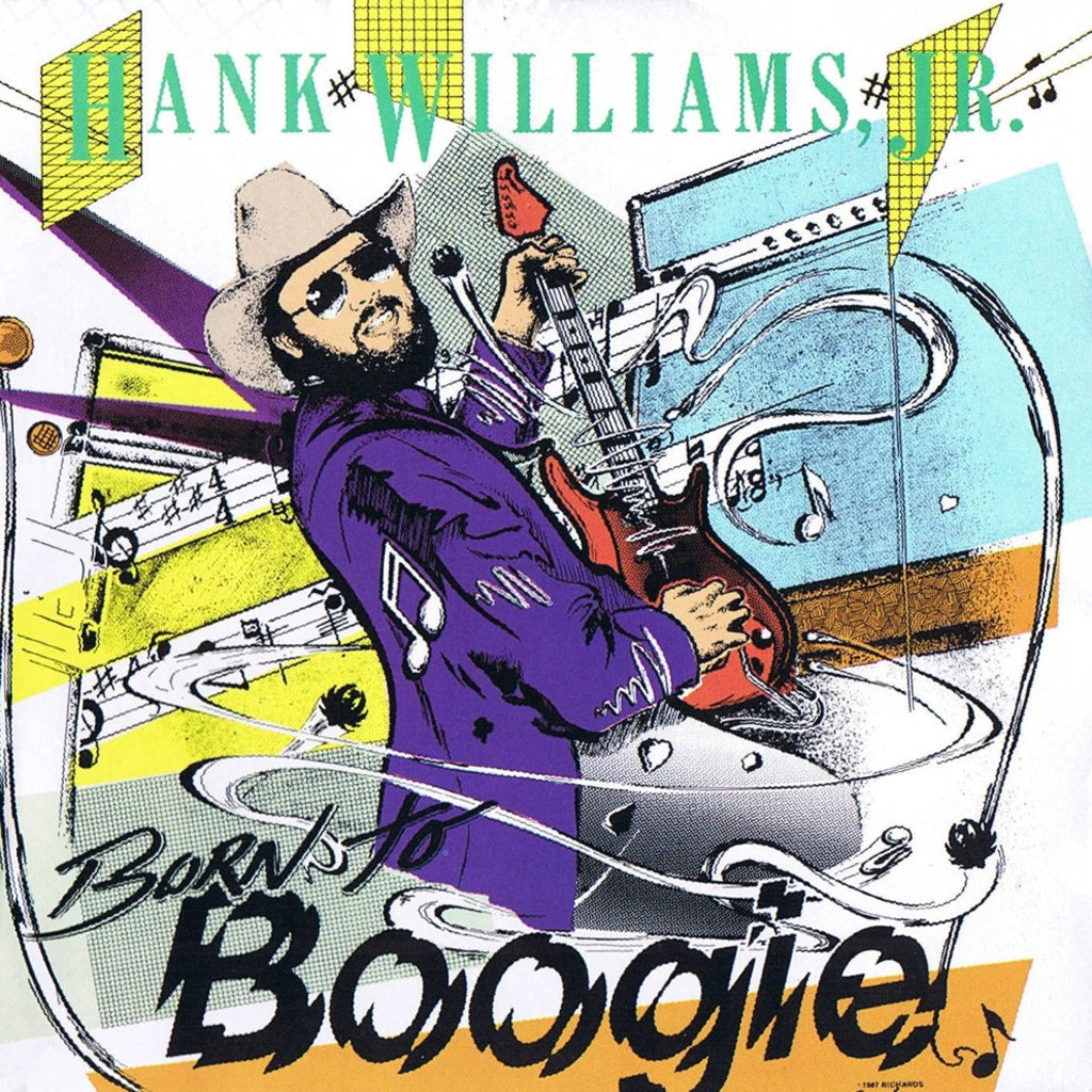 Hank Williams Jr. Born To Boogie - vinyl LP