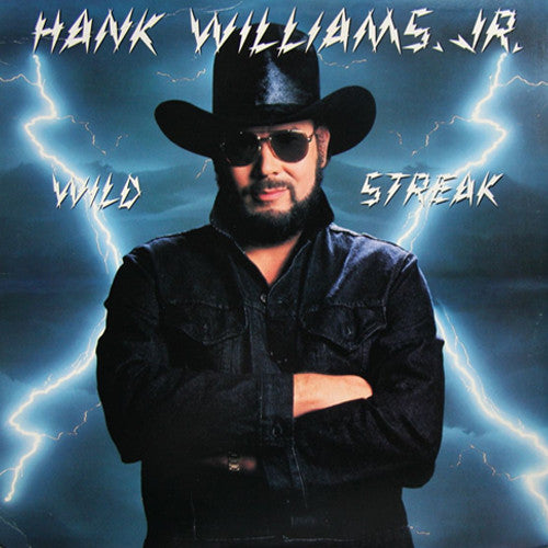 Hank Williams Jr. Wild Streak - vinyl LP