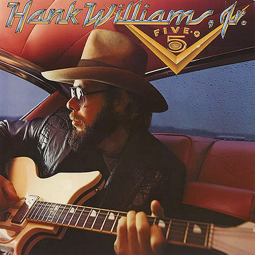 Hank Williams Jr. Five-O - vinyl LP