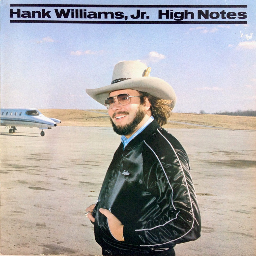 Hank Williams Jr High Notes - vinyl LP