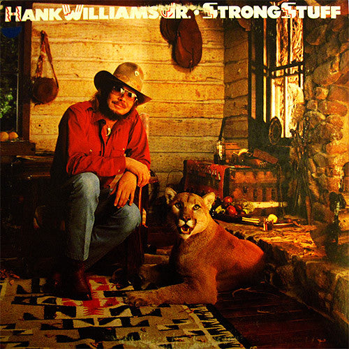 Hank Williams Jr. Strong Stuff - vinyl LP
