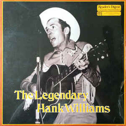 Hank Williams The Legendary Hank Williams - vinyl LP