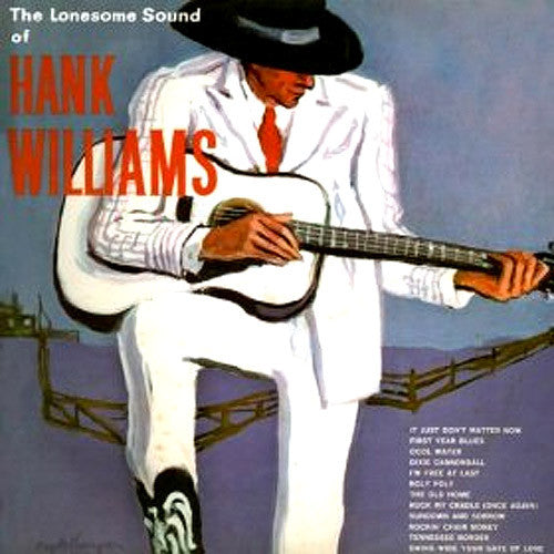 Hank Williams The Lonesome Sound of Hank Williams - vinyl LP