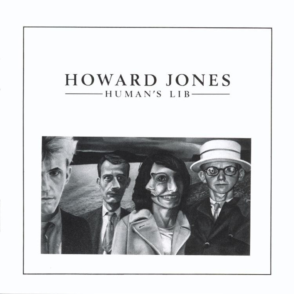Howard Jones Human's Lib - vinyl LP