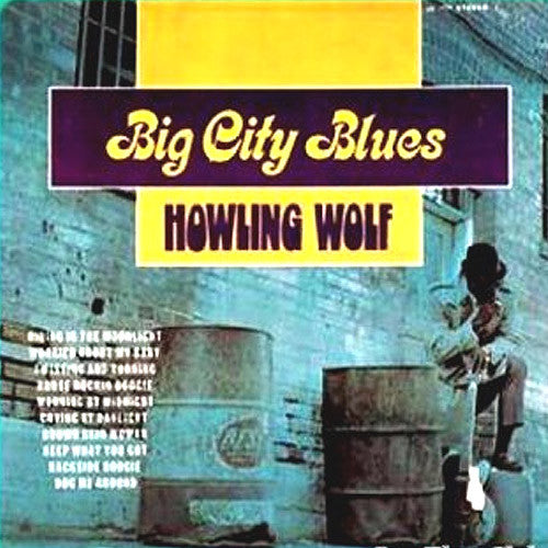 Howlin Wolf Big City Blues - vinyl LP