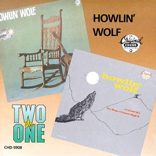 Howlin' Wolf Moanin' In The Moonlight - compact disc
