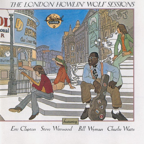 Howlin' Wolf The London Howlin' Wolf Sessions - compact disc