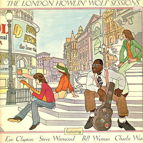 Howlin' Wolf The London Howlin' Wolf Sessions - vinyl LP