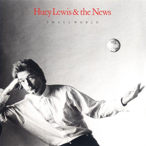 Huey Lewis And The News Small World - cassette
