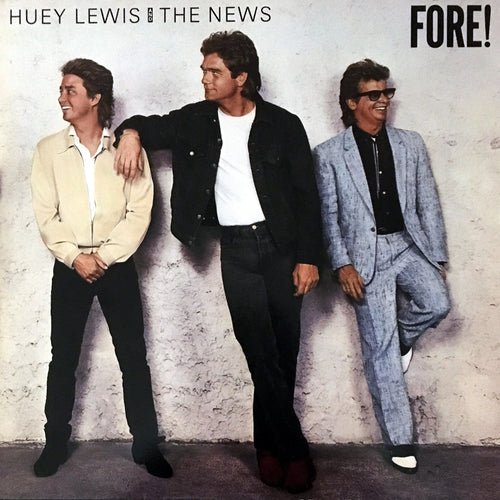Huey Lewis and The News Fore! - vinyl LP