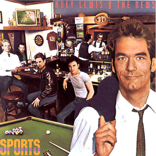 Huey Lewis and The News Sports - vinyl LP