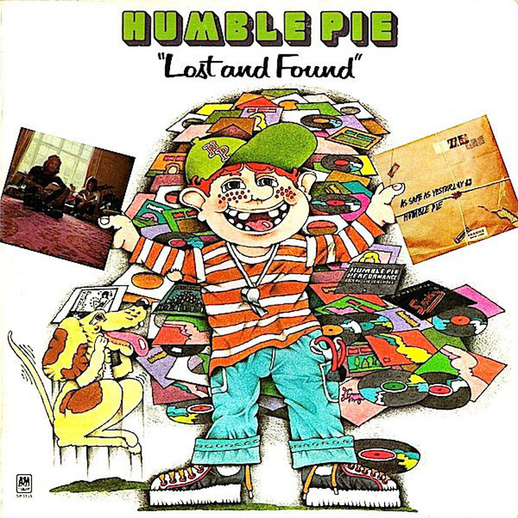 Humble Pie Lost And Found - vinyl LP