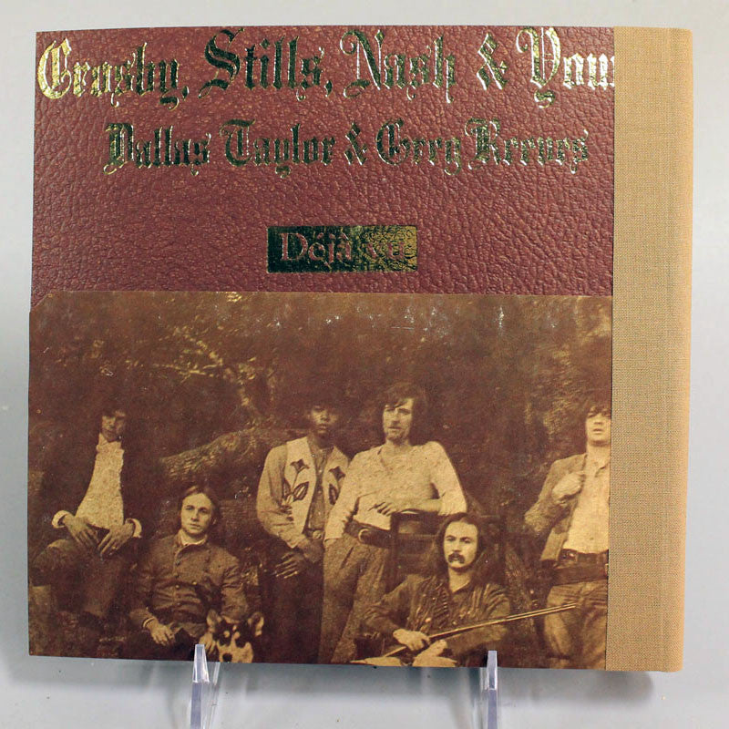 Vintage Vinyl Journal Crosby Stills Nash & Young déjà vu