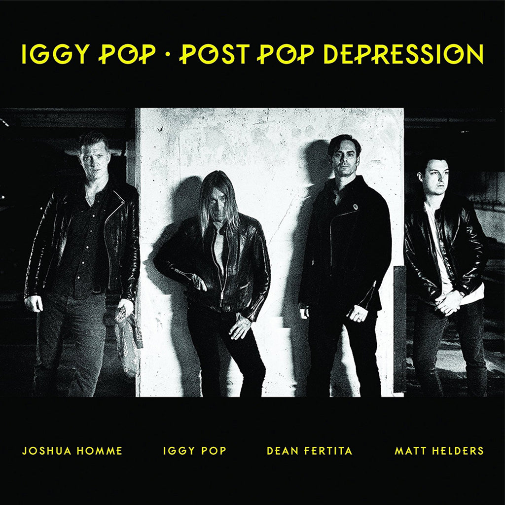 Iggy Pop Post Pop Depression - vinyl LP