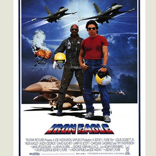Iron Eagle motion picture soundtrack - cassette