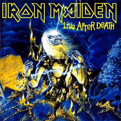 Iron Maiden Live After Death - picture LP
