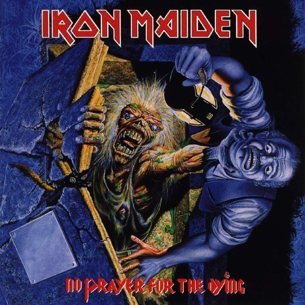 Iron Maiden No Prayer For The Dying - cassette
