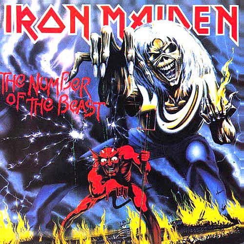 Iron Maiden The Number Of The Beast - picture LP