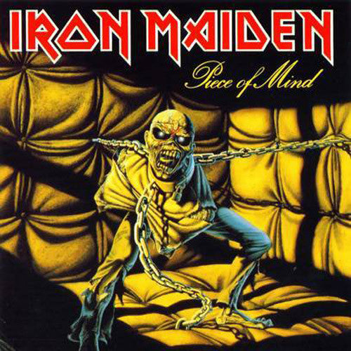 Iron Maiden Piece Of Mind - picture LP