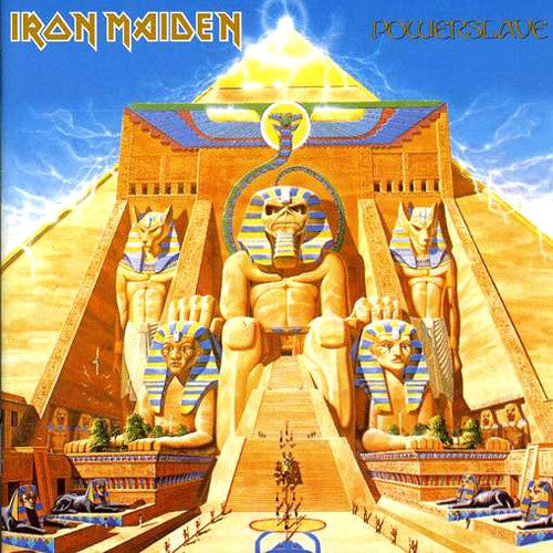 Iron Maiden Powerslave - picture LP