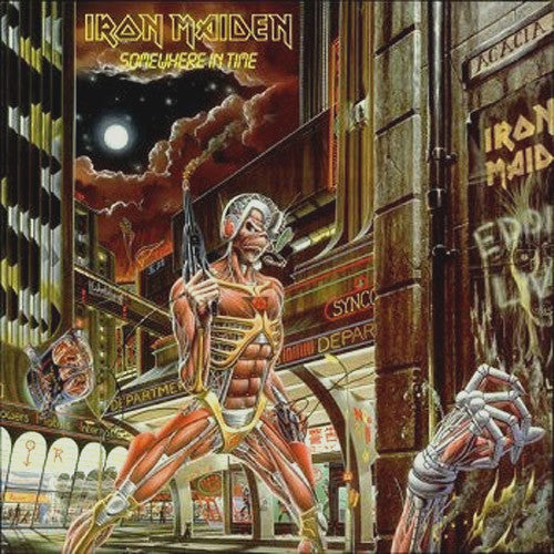 Iron Maiden Somewhere In Time - picture LP